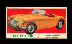 1961 TOPPS SPORTS CARS #13 MGA TWIN CAM NM