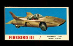 1961 TOPPS SPORTS CARS #6 FIREBIRD III VG/EX