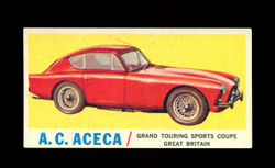 1961 TOPPS SPORTS CARS #4 A.C. ACECA EX/EXMT