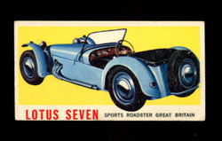 1961 TOPPS SPORTS CARS #1 LOTUS SEVEN VG/EX