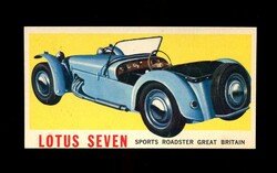 1961 TOPPS SPORTS CARS #1 LOTUS SEVEN NM