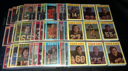 1972 OPC CFL FOOTBALL O PEE CHEE COMPLETE SET 132/132 *012