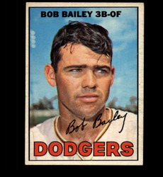 1967 BOB BAILEY OPC #32 O PEE CHEE DODGERS VG *8137
