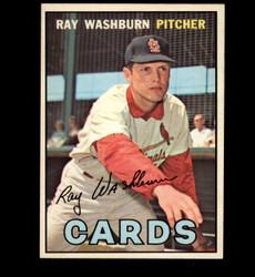 1967 RAY WASHBURN OPC #92 O PEE CHEE CARDINALS VG *8203