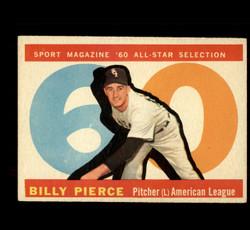 1960 BILLY PIERCE TOPPS #571 ALL STAR EX *4999
