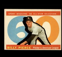 1960 BILLY PIERCE TOPPS #571 ALL STAR EX/EXMT *5508