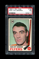 1969 JEAN GUY GENDRON OPC #169 O PEE CHEE FLYERS PSA 7