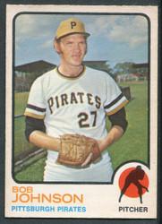 1973 BOB JOHNSON OPC #657 O PEE CHEE PIRATES #2644