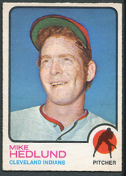 1973 MIKE HEDLUND OPC #591 O PEE CHEE INDIANS #2632
