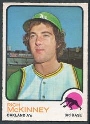 1973 RICH MCKINNEY OPC #587 O PEE CHEE ATHLETICS #2634