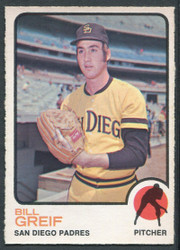 1973 BILL GRIEF OPC #583 O PEE CHEE PADRES #2638