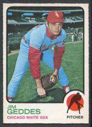 1973 JIM GEDDES OPC #561 O PEE CHEE WHITESOX #2682