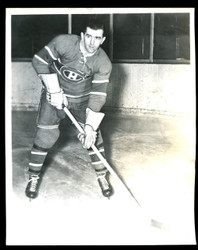 1949 MAURICE RICHARD 8X10 MONTREAL CANADIANS WIRE PHOTO