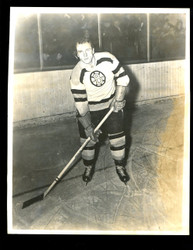 "1949 MARTIN JOSEPH ""PAT"" EGAN 8X10 BOSTON BRUINS WIRE PHOTO"