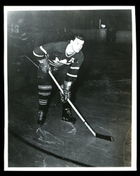 1949 HARRY PERCIVAL WATSON 8X10 TORONTO MAPLE LEAFS WIRE PHOTO