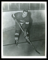 1949 TED LINDSAY 8X10 DETROIT RED WINGS WIRE PHOTO