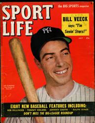 1949 SPORT LIFE MAGAZINE JULY JOE DI MAGGIO ON COVER