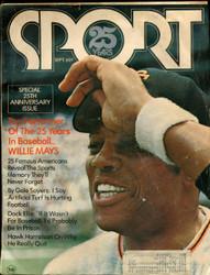 1971 SPORT MAGAZINE SEPTEMBER WILLIE MAYS ON COVER