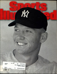 1995 SPORTS ILLUSTRATED MAGAZINE AUGUST MICKEY MANTLE ON COVER