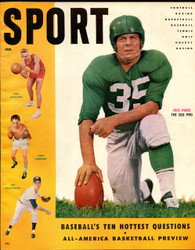 1955 SPORT MAGAZINE JANUARY PETE PIHOS ON COVER