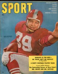 1955 SPORT MAGAZINE DECEMBER HUGH MCELPHENNY ON COVER