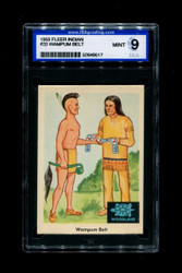 1959 FLEER INDIAN #20 WAMPUN BELT ISA 9