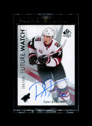 2017 DYLAN STROME UD SP AUTHENTIC #/999 ROOKIE FUTURE WATCH AUTO *1188