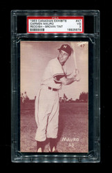 1953 CARMEN MAURO CANADIAN EXHIBITS #47 REDDISH BROWN TINT PSA 3
