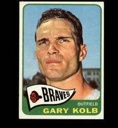 1965 GARY KOLB TOPPS #287 BRAVES NM *3220