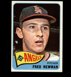 1965 FRED NEWMAN TOPPS #101 ANGELS NM *2618