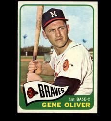 1965 GENE OLIVER TOPPS #106 BRAVES NM *3637