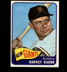 1965 HARVEY KUENN TOPPS #103 GIANTS NM-NM/MT *3795