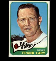 1965 FRANK LARY TOPPS #127 BRAVES NM *3515