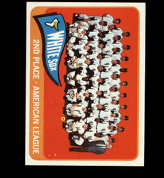 1965 CHICAGO WHITE SOX TOPPS #234 TEAM CARD NM *4782