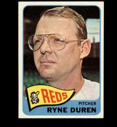 1965 RYNE DUREN TOPPS #339 REDS EXMT-NM *4466