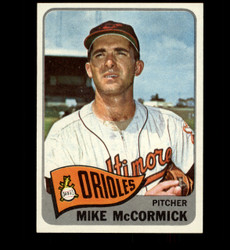 1965 MIKE MCCORMICK TOPPS #343 ORIOLES NM *7557