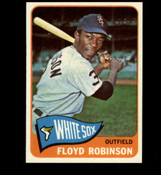 1965 FLOYD ROBINSON TOPPS #345 WHITE SOX NM *7562