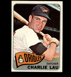 1965 CHARLIE LAU TOPPS #94 ORIOLES NM/MT *2107