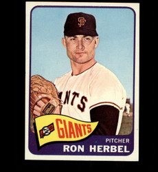 1965 RON HERBEL TOPPS #84 GIANTS NM *3140