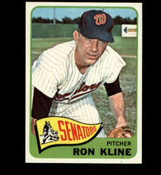 1965 RON KLINE TOPPS #56 SENATORS NM/MT *3676