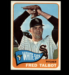 1965 FRED TALBOT TOPPS #58 WHITE SOX NM/MT *2154