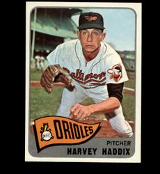1965 HARVEY HADDIX TOPPS #67 ORIOLES NM-MT *3157