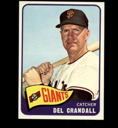 1965 DEL CRANDALL TOPPS #68 GIANTS NM-MT *4646