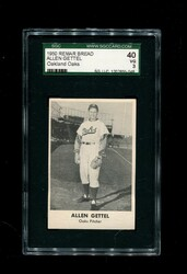 1950 ALLEN GETTEL REMAR BREAD OAKLAND OAKS SGC 40 VG 3
