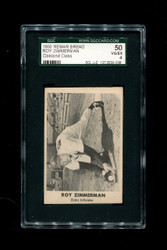 1950 ROY ZIMMERMAN REMAR BREAD OAKLAND OAKS SGC 50 VG/EX 4