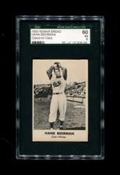 1950 HANK BEHRMAN REMAR BREAD OAKLAND OAKS SGC 60 EX 5