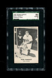 1950 DON PADGETT REMAR BREAD OAKLAND OAKS SGC 80 EX/NM 6