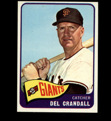 1965 DEL CRANDALL TOPPS  #68 GIANTS NM/MT *4323