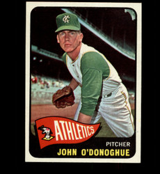 1965 JOHN O'DONOGUE TOPPS #71 ATHLETICS NM *7021
