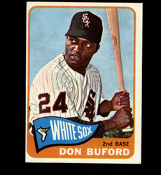 1965 DON BUFORD TOPPS #81 WHITE SOX EXMT-NM *5513
